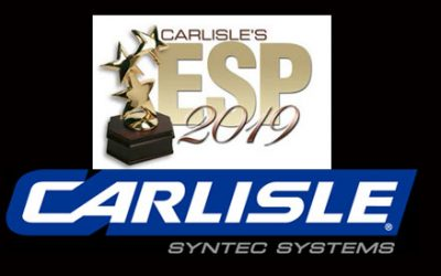 Carlisle SynTec Excellence in Single-Ply Award 2019