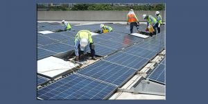 Solar Panel PowerGrip Installation
