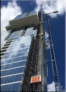 Texas Fifth Wall Roofing Systems, Inc. Completes Roof On Tallest All-Residential Tower West Of The Mississippi River