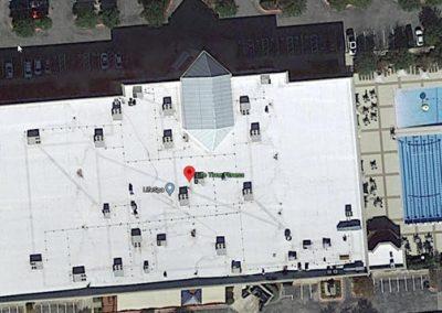 Commercial Reroof Fitness Center Austin